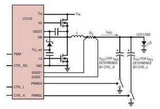 新型大功率LED驅動器的設計方案