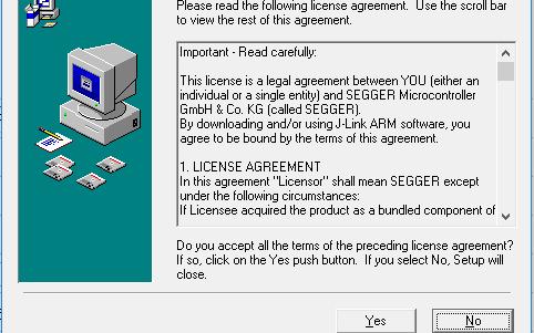 Setup JLinkARM V462驱动程序免费下载