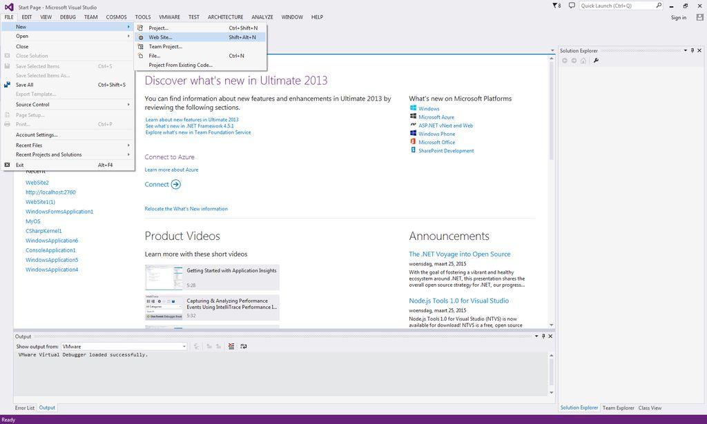 如何使用Visual Studio创建自己的课程网站