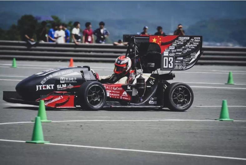 贸泽电子恭祝同济翼驰车队在FSAEJ赛事中获得油车组季军的优异成绩