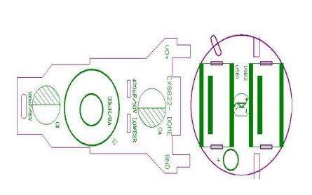 CX8822车充管理同步�镄酒�的PCB和线路图及测试数据等资料免费下载