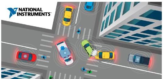 NI助力C-V2X通信,助您开发更安全的汽车