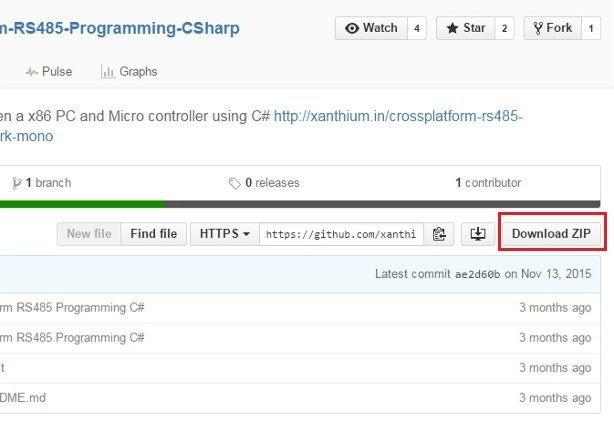 如何从GitHub存储库下载代码