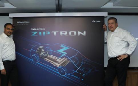 塔塔汽车顺应电气化而推出电动汽车技术ZIPTRO...