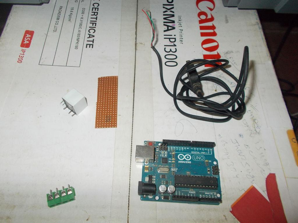 帶有Arduino的語音控制開關的制作