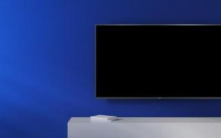 小米最新发布能够支持语音控制的全面屏电视