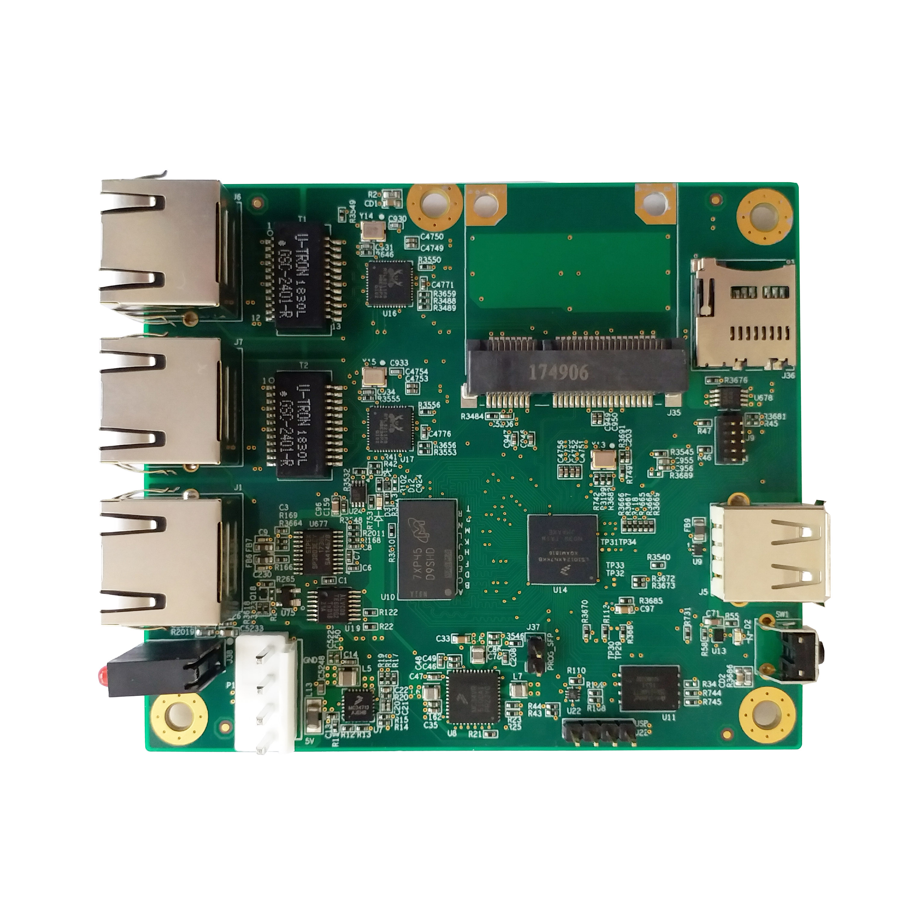 基于ARM工控主板的NXP_LS1012A特征