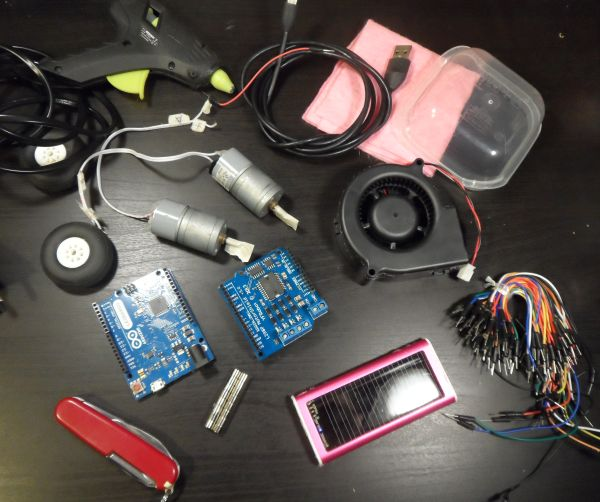 Arduino控制的機器人真空吸塵器的制作