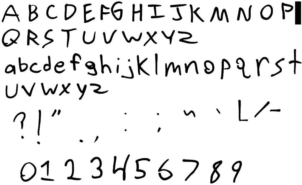 如何将自定义字符集转换为字体