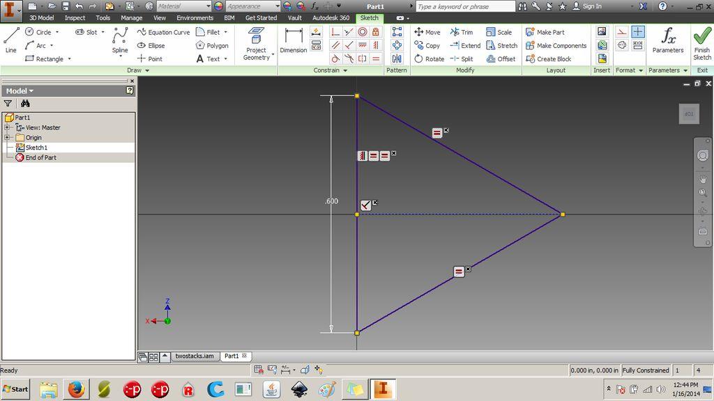 怎样在3d CAD中创建常规四面体