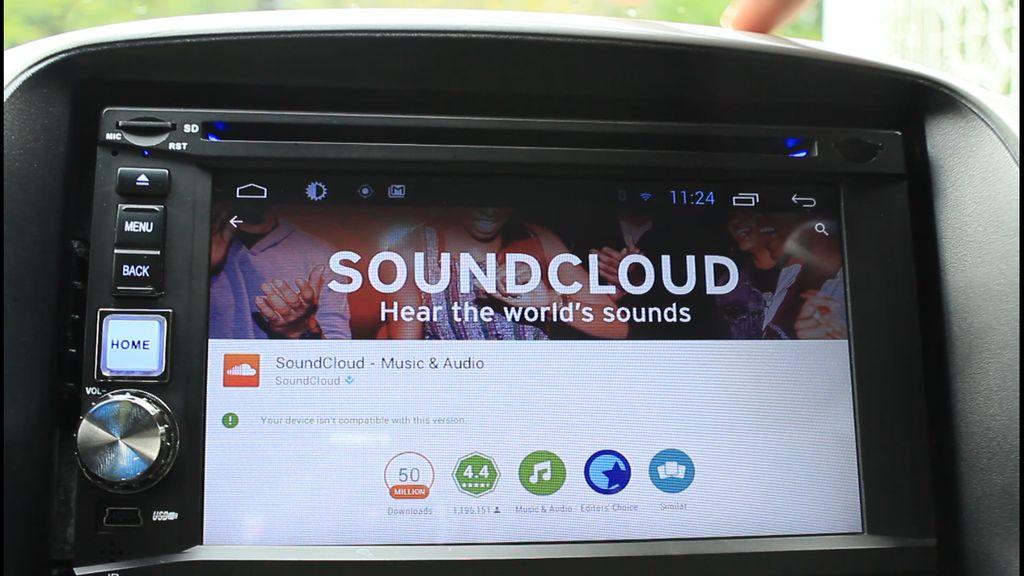 如何使应用程序在Android车载收音机上工作