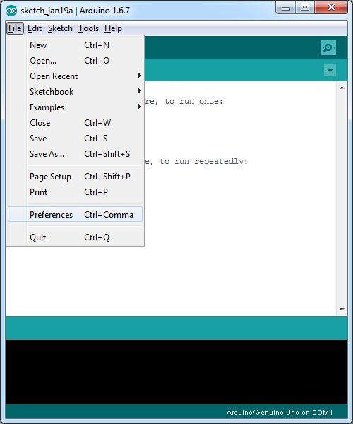 怎样设置ArduinoIDE对ESP8266进行编程