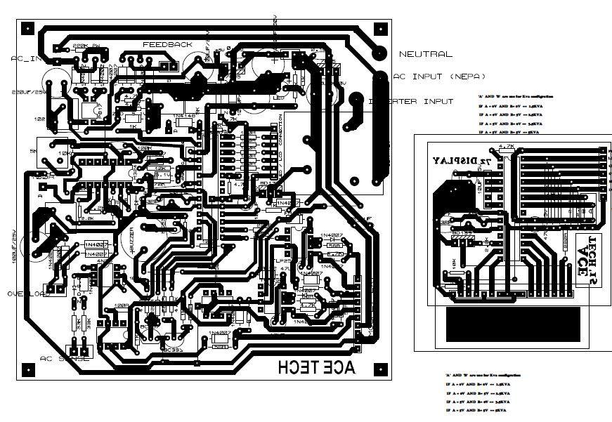带LED和LCD的纯正弦波逆变器的制作