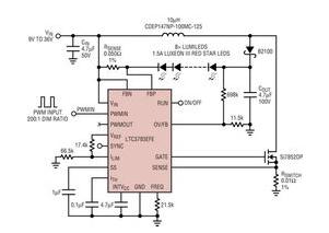 汽车LED照明系统的设计方案