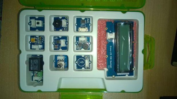 如何使用Grove Starter Kit plus和LinkIt One进行设置和运行