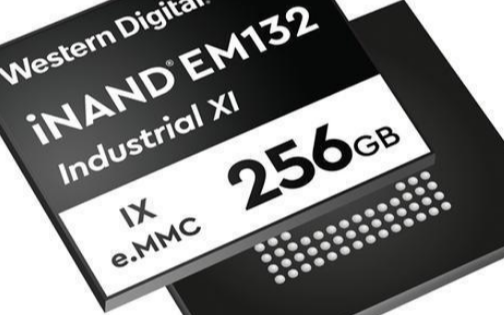 西部数据发布首款嵌入式的eMMC SSD