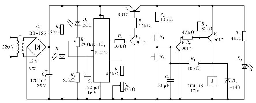 照明光感節電控制器的工作原理解析