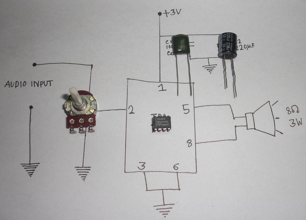 如何制作2W音頻放大器