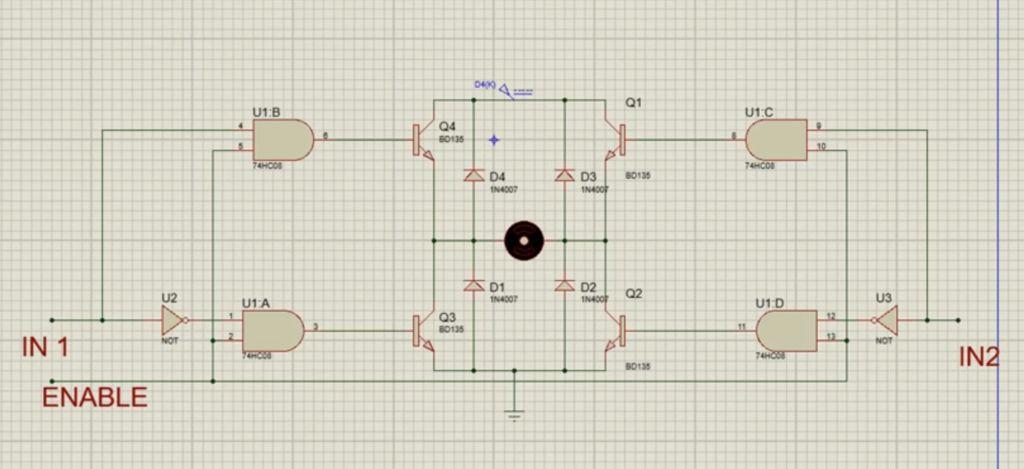 H-桥式电机驱动器的工作原理及制作