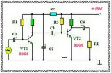 三極管放大電路中串聯電容的原因是什么?