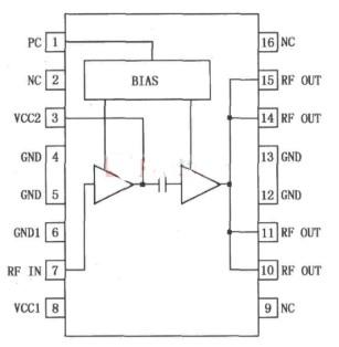 RF2131高效率放大器的应用范围及引脚功能介绍