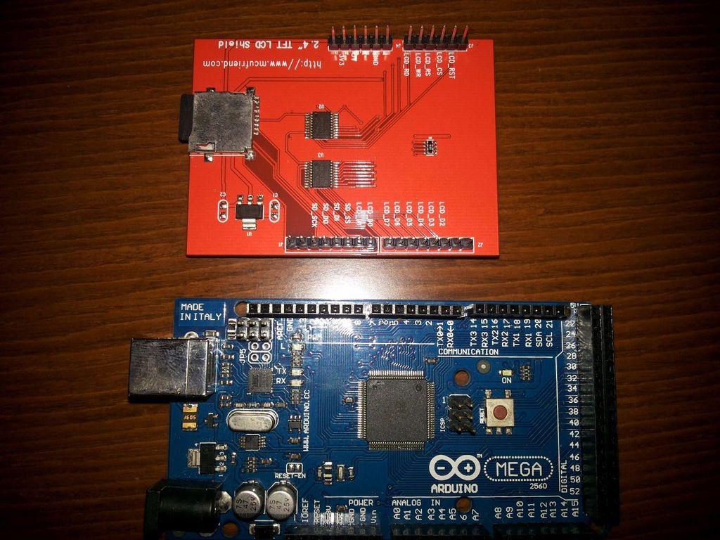 怎樣在ArduinoMega上使用2.4英寸TFTLCD屏蔽