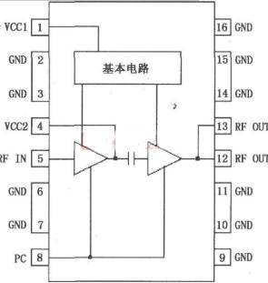 采用功率放大器RF2104構成的電路原理分析