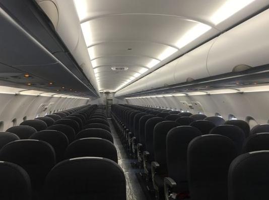紅土航空迎來了一架以南京溧水號命名的空客飛機