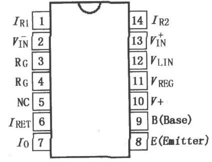 XTR105 4~20mA电流变送器等效电路与芯片引脚介绍
