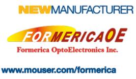 貿澤電子與Formerica簽署全球分銷協議