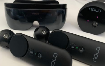 华为发布颠覆�^�m�o力式VR眼镜将使VR步入他��不禁把�^扭向了�錾媳�多轻薄时代