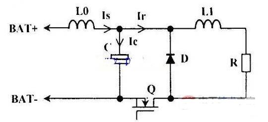 蓄电池恒流放电原理图