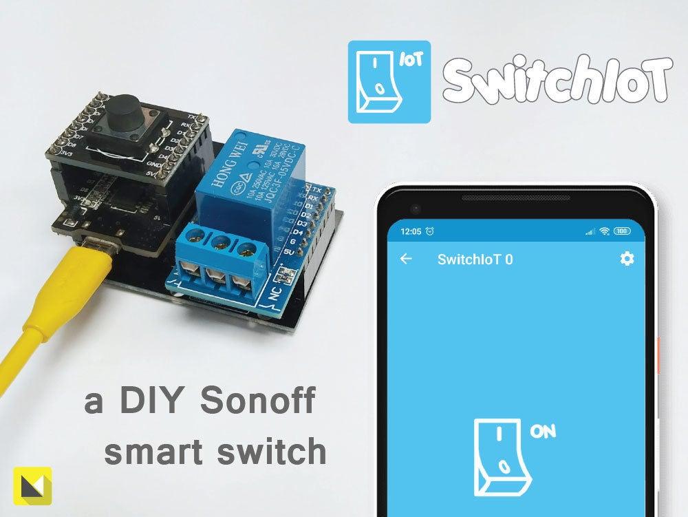 如何使用几种不同的硬件模型制作Sonoff智能交...