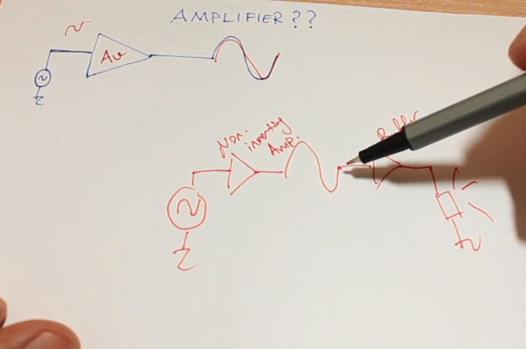如何制作一个称为AB类放大器的放大器电路