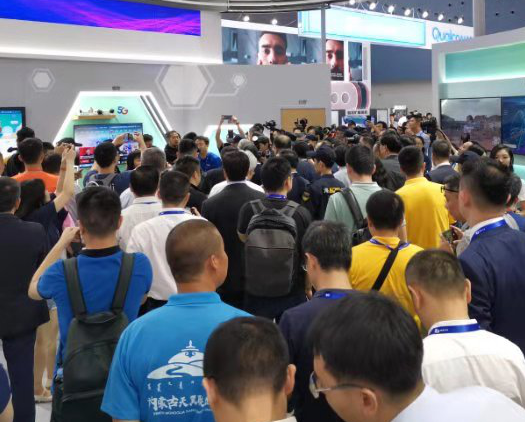 中国电信多款5G智慧家庭产品亮相天翼智能生态博览会