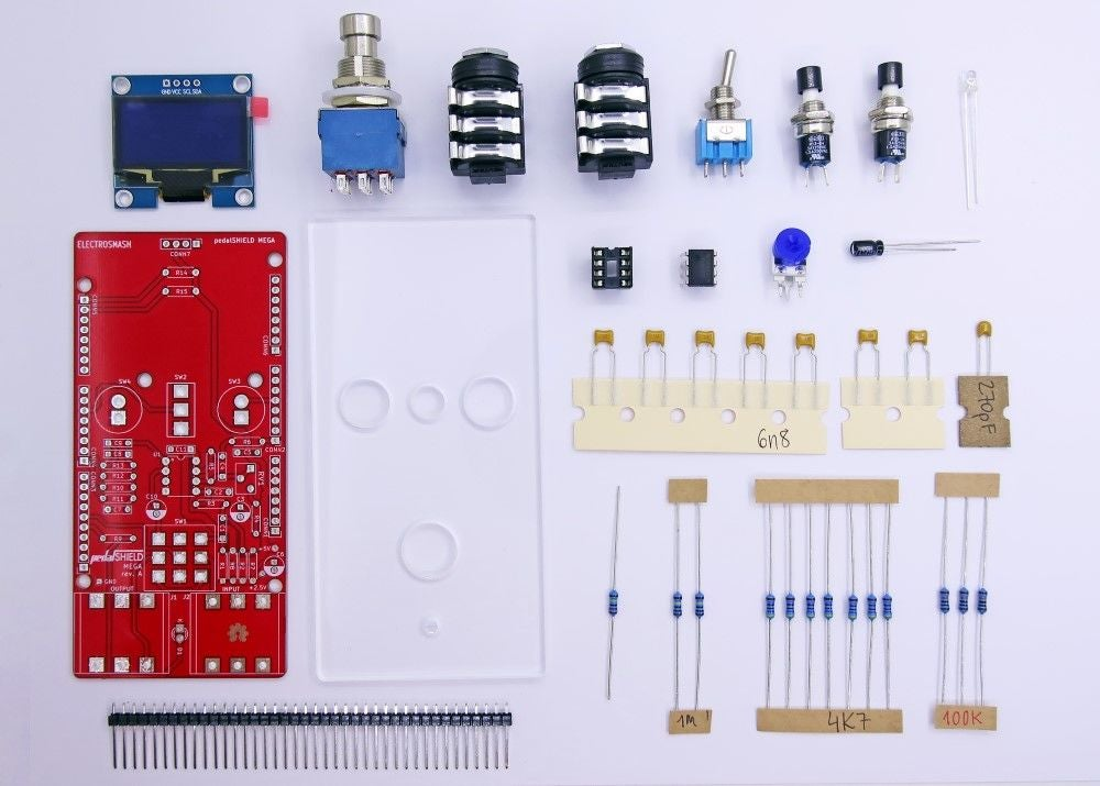 Arduino MEGA吉他踏板的制作