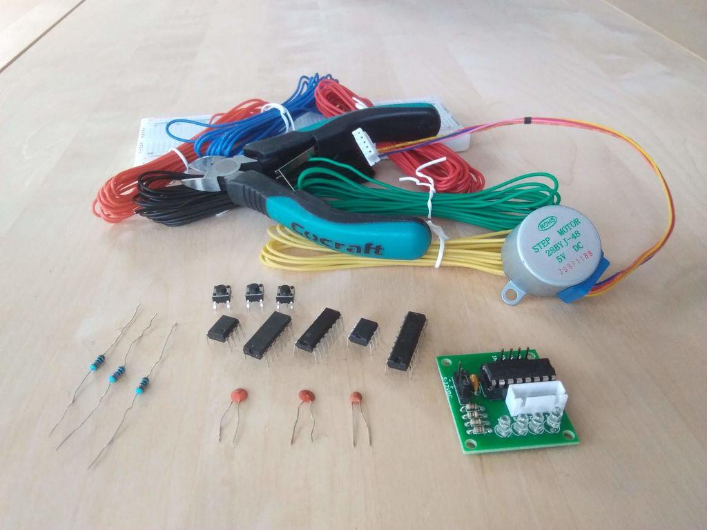 怎样在没有微控制器的情况下驱动步进电机