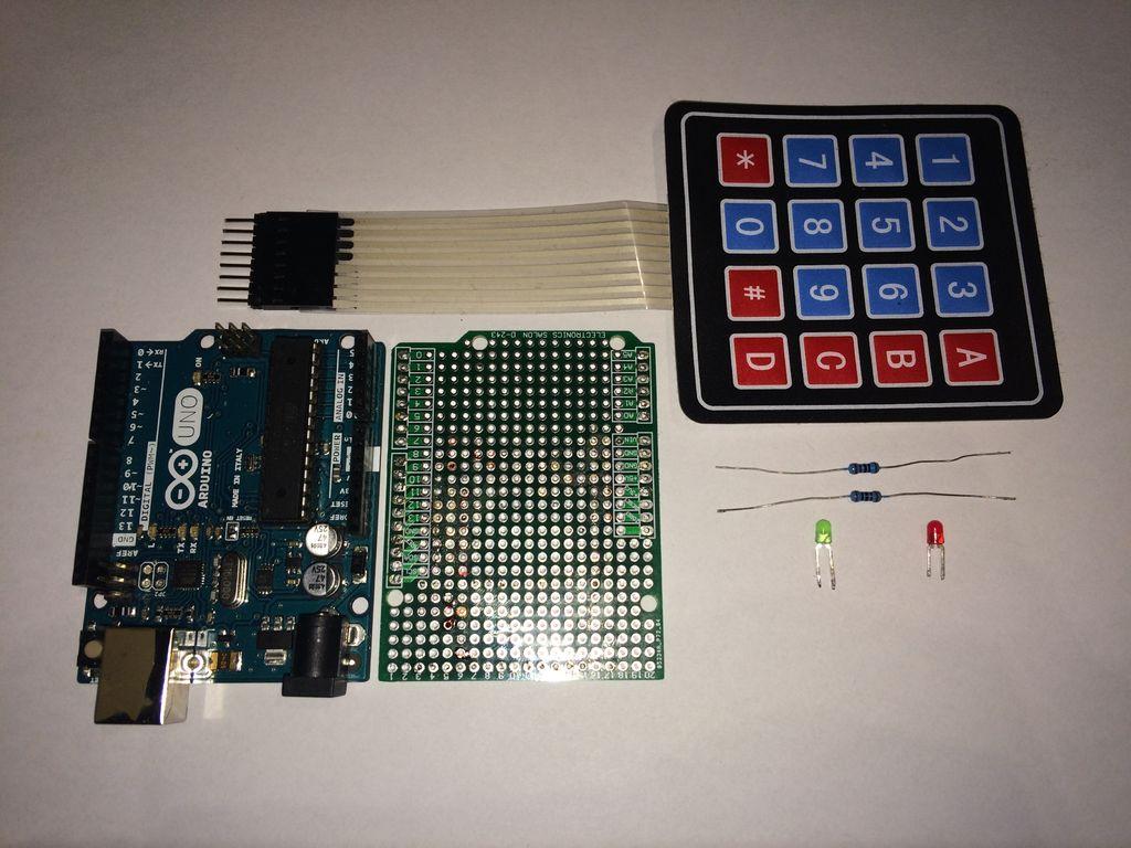 带有密码的Arduino门锁的制作