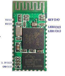带有HC-05的通信蓝牙模块HC-06