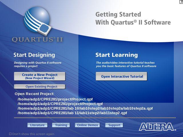 如何在Quartus II中创建一个4位加法器