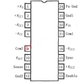 ISO103隔离放大器的性能及引脚排列分析