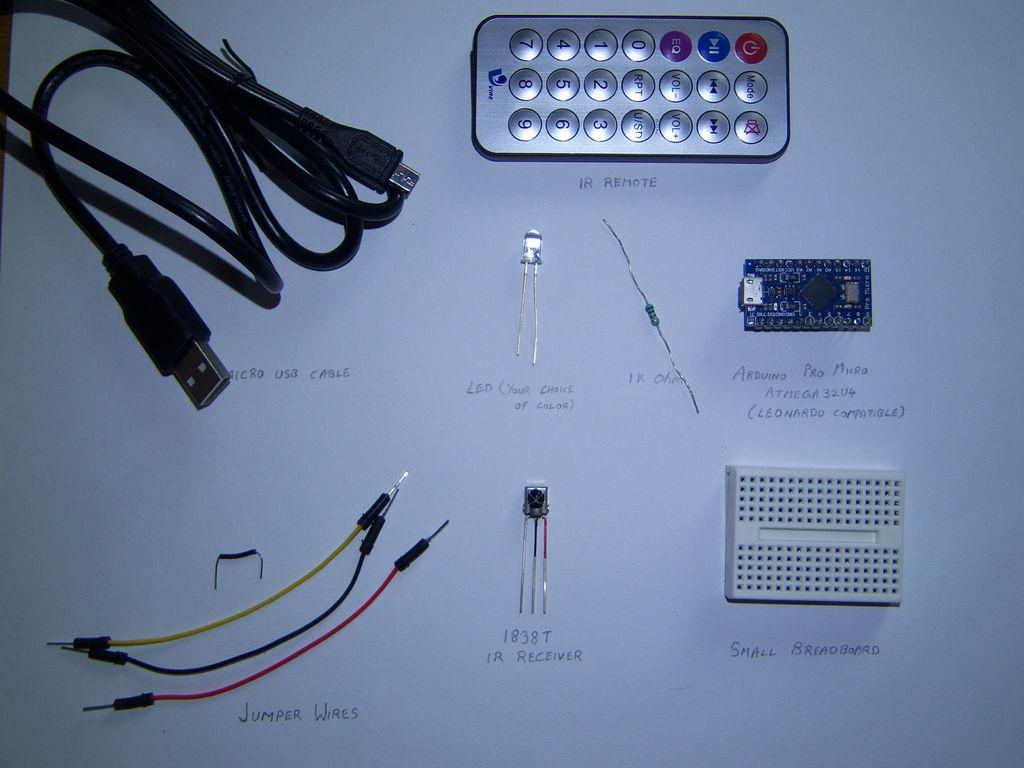 怎樣用ArduinoProMicro進行PC遠程控制