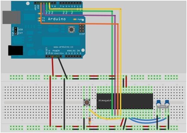 如何对带有ATMEGA644P或1284P的Arduino板进行DIY