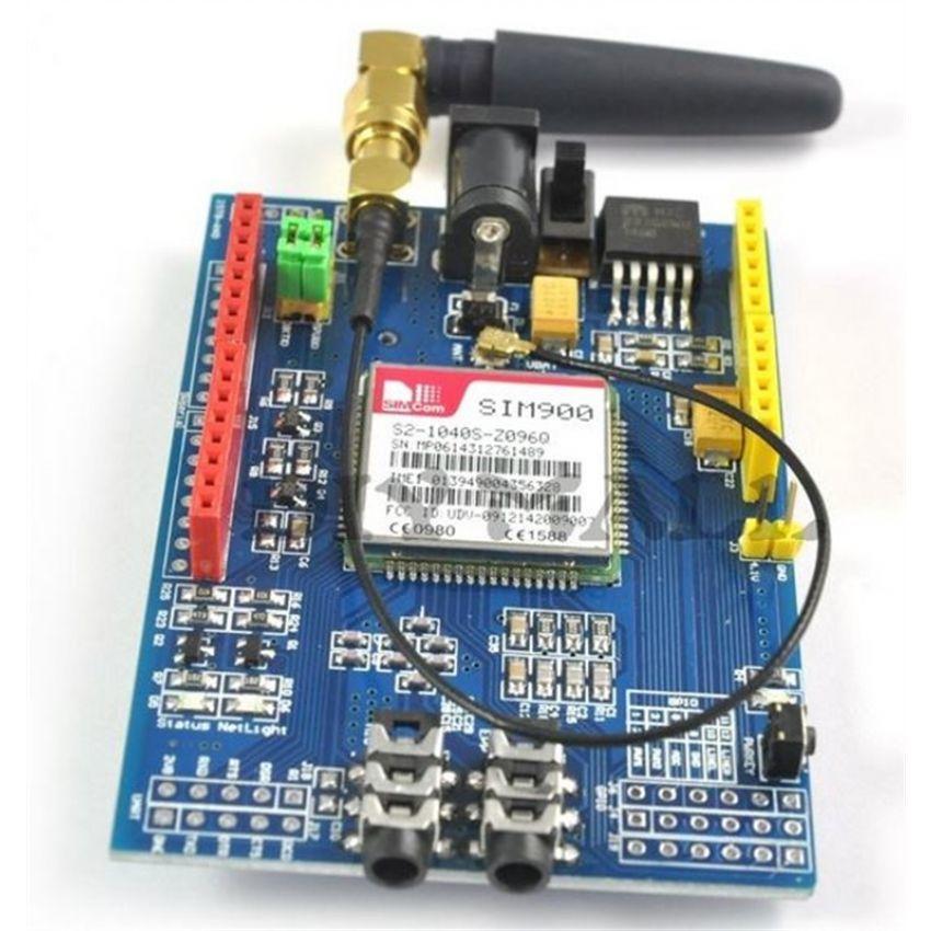 如何使用sim900模块将数据发送到TCP服务器