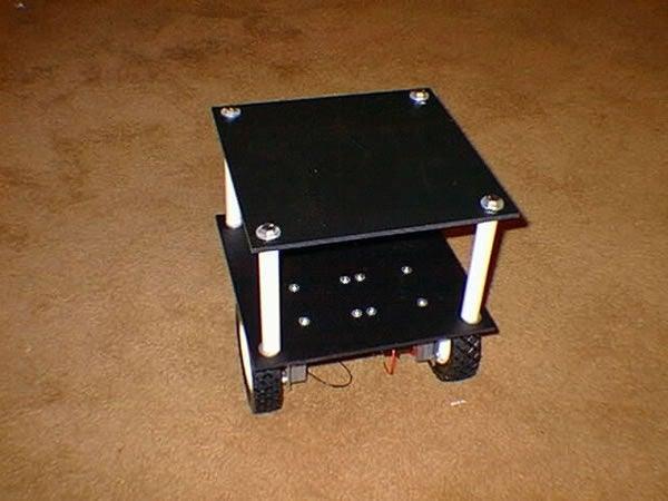 移动机器人底座制作图解