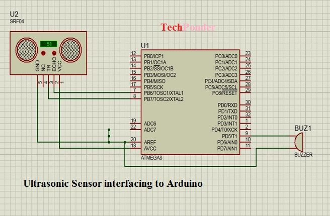 如何将超声波传感器连接到Arduino Uno