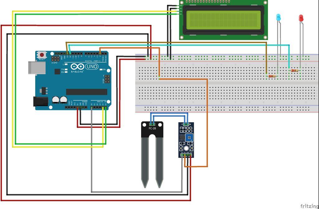 Arduino土壤水分项目的制作教程