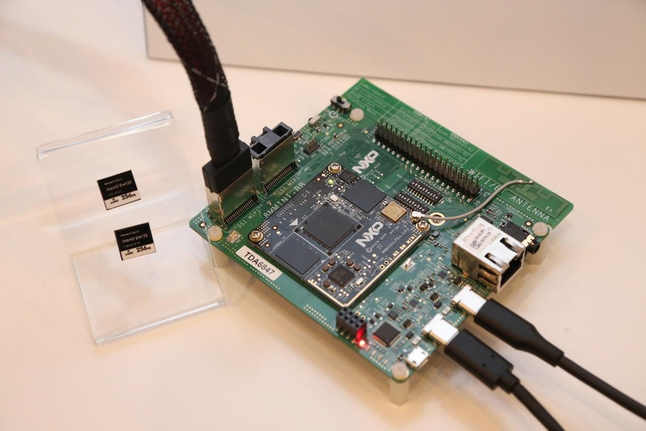 与NXP合作的demo