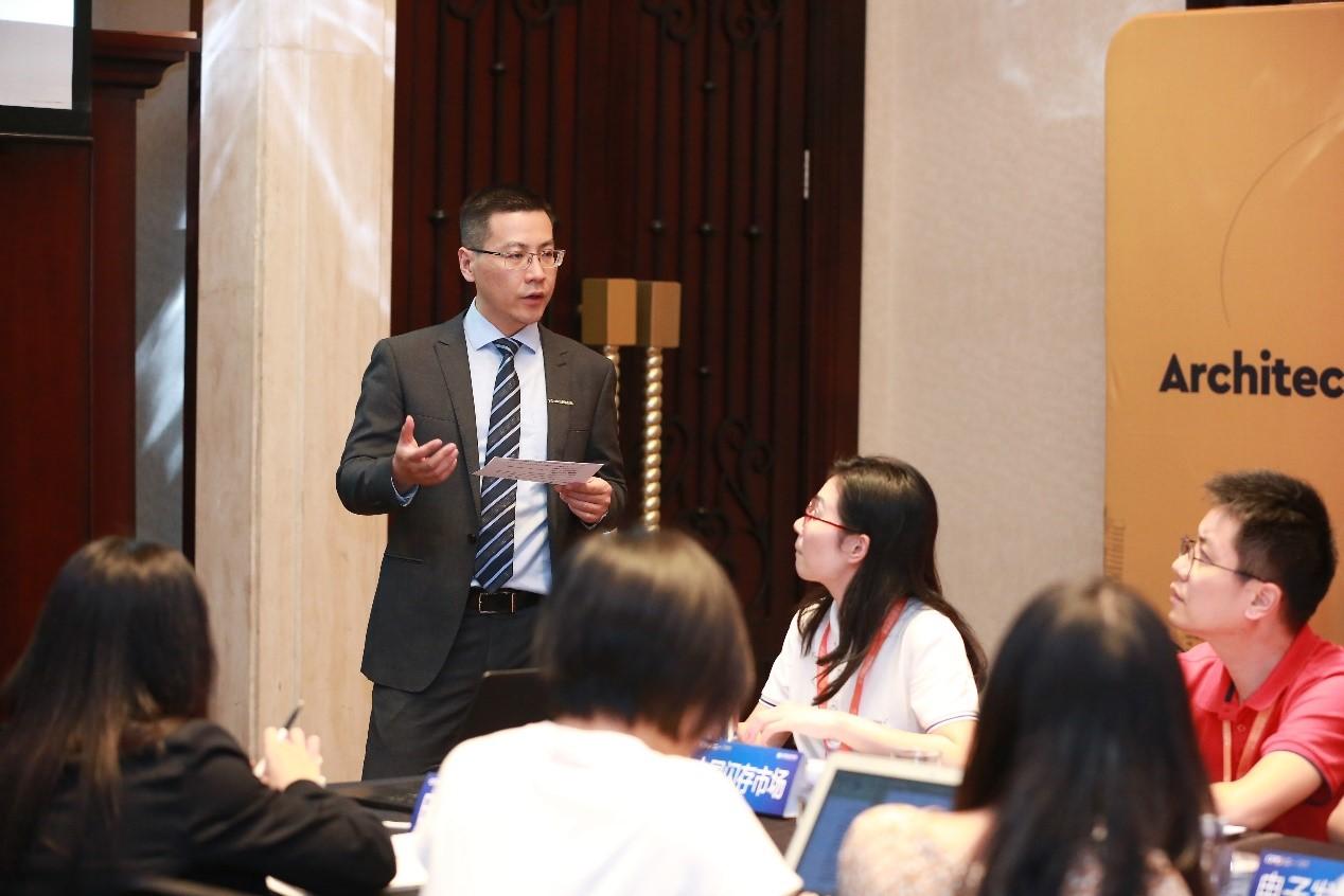 西部数据公司产品市场部副总裁朱海翔