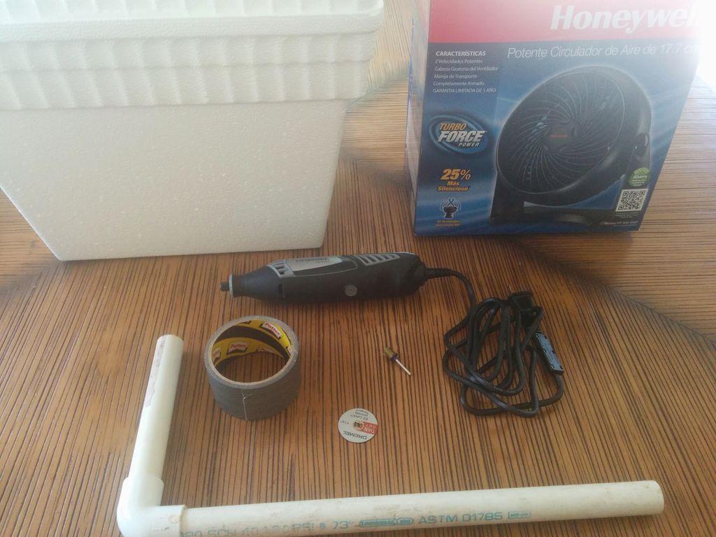 便携式散热器空调的制作教程